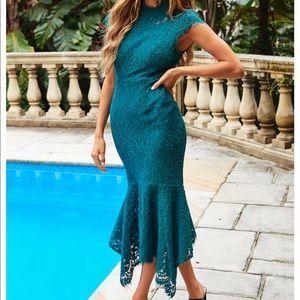 Hello Molly Midi maxi Lace Dress size S